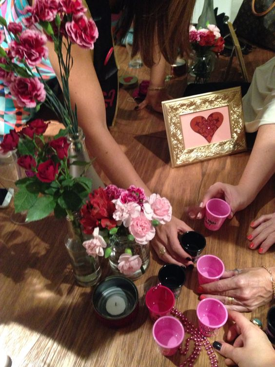 Madrinhas ativar! Team bride! Chá de lingerie