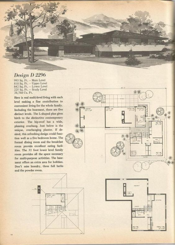 Pinterest the world s catalog of ideas for 1970s ranch house plans