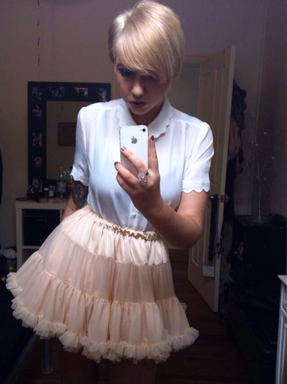 Mothers Feminizing Sons Hair Skirts And Petticoats On