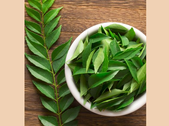 Ayurvedic Remedies To Reduce Belly Fat-Curry leaves