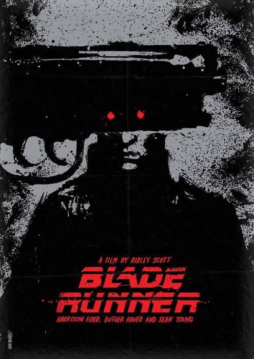 Blade Runner: Deckard, a blade runner, has to track down and terminate 4 replicants who hijacked a ship in space and have returned to Earth seeking their maker.