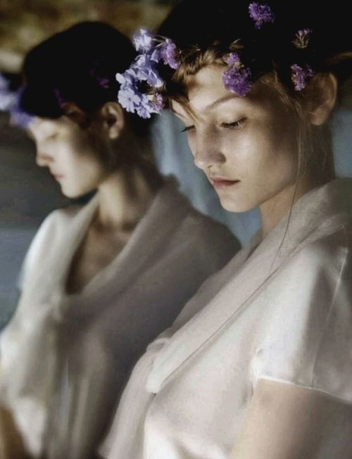 """Sisters"" photographed by David Hamilton for Soon International Spring 2011"