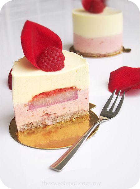 Recette Cake Ispahan