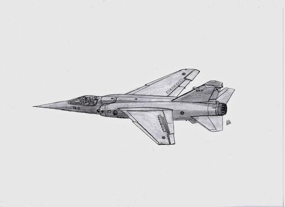 DIBUJOS aeronave: Cazabombardero