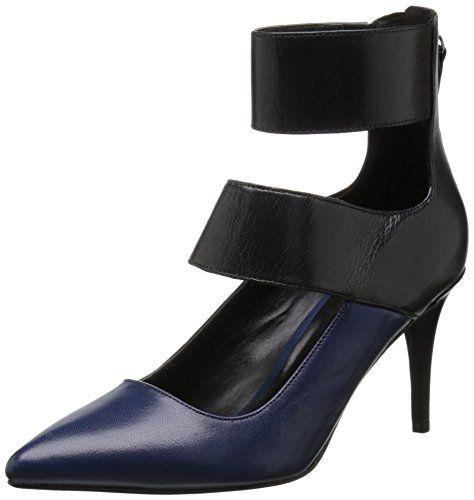 Nine West Women's Pursue Dress Pump,Black/Blue,8 M US Nine West http://www.amazon.com/dp/B00LHVUH7W/ref=cm_sw_r_pi_dp_qVTjvb1QTZGJ9