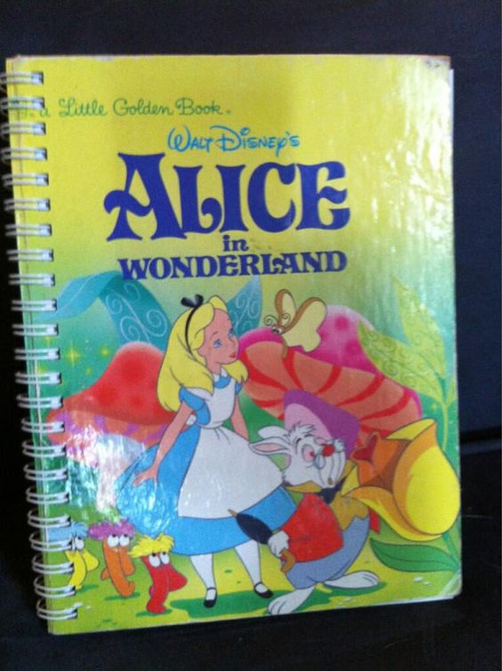 Alice in Wonderland Blank Book by Merrittorious on Etsy, $10.00