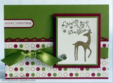 Christmas card- can you tell I going to get started on Christmas cards :)