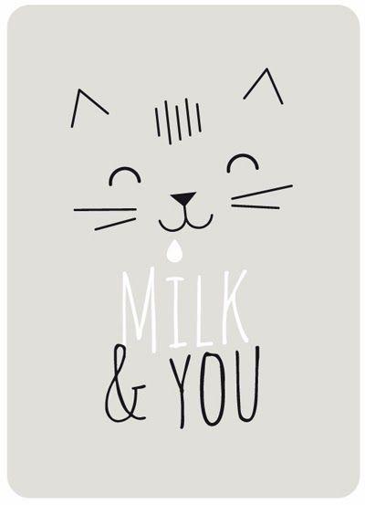 Una ilustración minimalista de un gato hiper cool