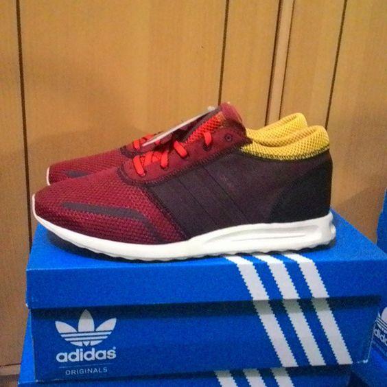 Adidas Los Angeles Rush Red Size 42 42 2/3 43 1/3 Bnib IDR 975K  WA 085779733105  #adidasoriginals #adidaslosangeles #sneakerhead #sneakerteam #sneaker #seller #infocasuals #3foild #treefoil #3garis #infocasuals #indonesiafirm #casualboys #sneakeroriginal #curvasud #recomendedseller #sale #kickforsale