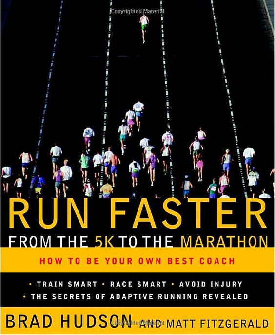 """I just started reading this... but I can't put it down. Great book on how to plan your running program based on how you respond to training. """"Adaptive Running"""", cool stuff."""