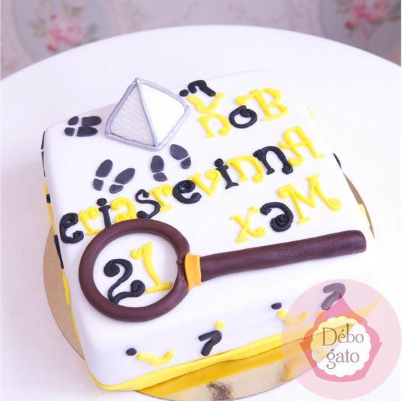 Gâteau Enigme, Jeux d'énigmes, Sherlock Holmes, Détective, Pyramide du Louvre, Gâteaux personnalisés, Paris, Passion, Gourmandise, Anniversaire, Gâteau d'anniversaire, Cake design Paris, Birthday cake