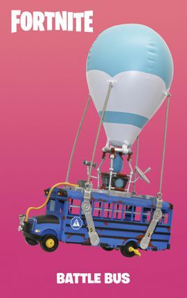 Fortnite Deluxe Battle Bus Lets You Re Create The Chapter 2 Opener Fortnite Alexa Device Battle