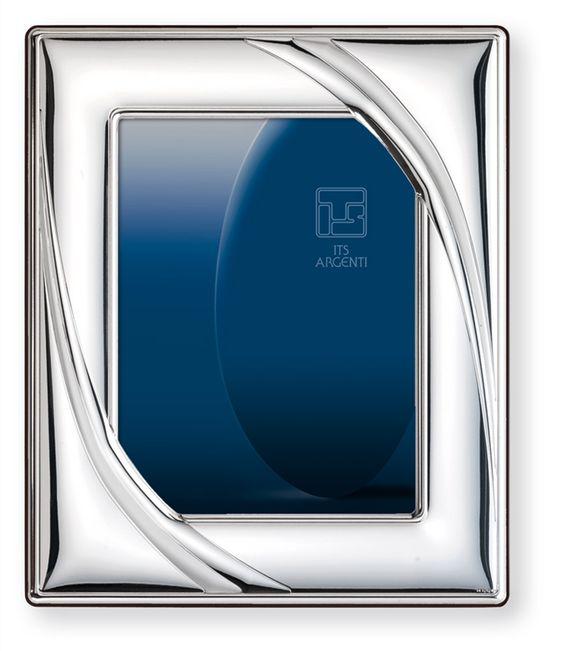 Italsilver marca italiana de art culos de plata para el hogar - Marcos de plata para bodas ...
