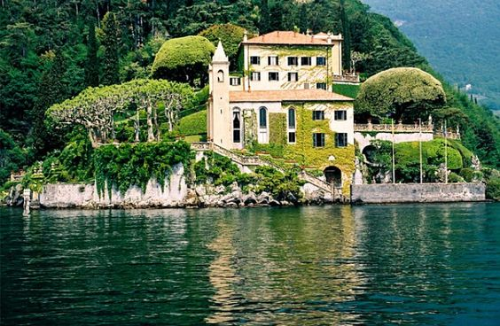 George Clooney's ultra-luxe Italian mansion.  I don't mind if George sticks around when I move in.