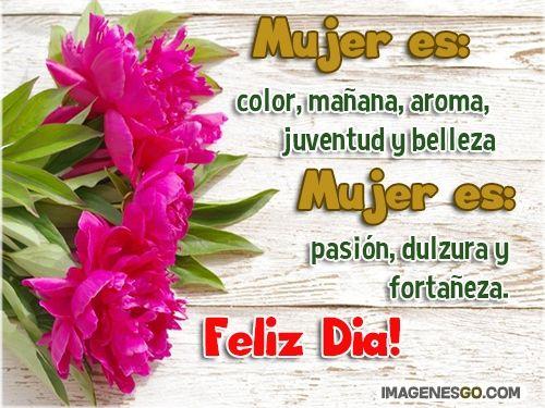 Imagenes Con Flores Feliz Dia De La Mujer Feliz Día De La Mujer Dia De La Mujer Imagenes Para Estados