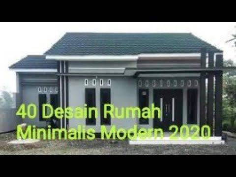 40 Desain Rumah Minimalis Modern 2020 Youtube Desain Rumah Minimalis Desain Rumah Rumah Minimalis