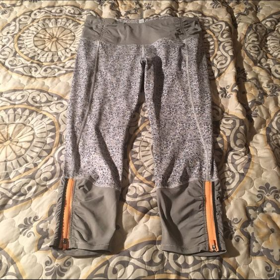 Lululemon Runday Crops BNWOT Only released in australia. Size 12. BNWOT- price is pretty firm. Would trade for an 8 in a different color. lululemon athletica Pants Leggings