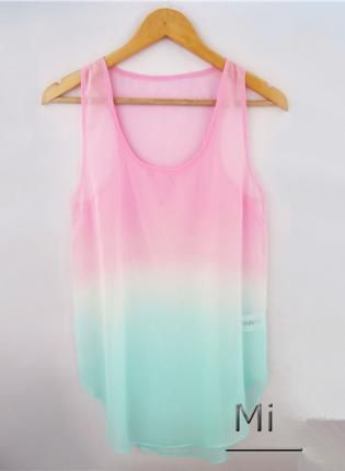 #ombre #tanktop how cute is thisss