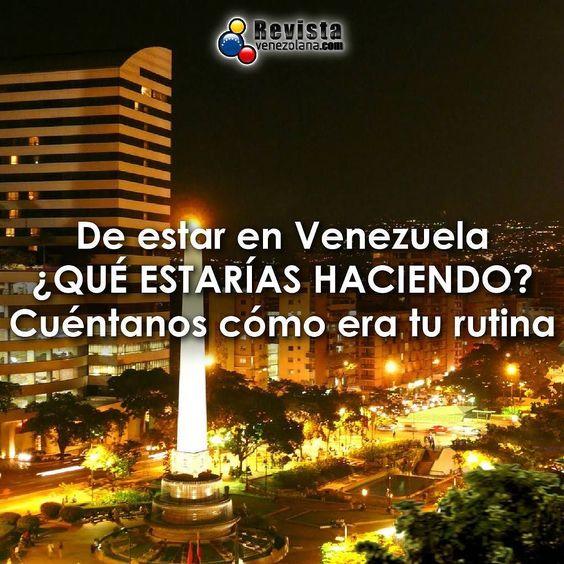 Hoy estamos curiosos queremos que nos cuentes un poco de ti. #VenezolanosEnElExterior #VenezolanosEnEspaña