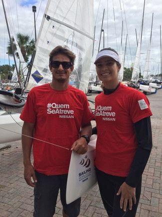 Nissan do Brasil e Nissan Espanha apoiaram os atletas ALBRECHT e SWAN na competição