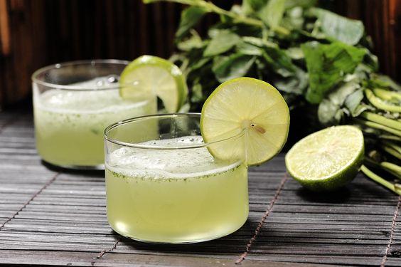 Granizado de hierbabuena y limón | Cocina y Comparte | Recetas
