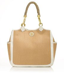 STRAW CHANNING TOTE