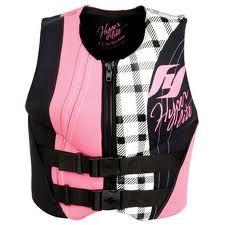 Hyperlite pink vest