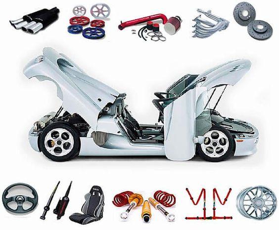 Venta de recambios y repuestos de coche