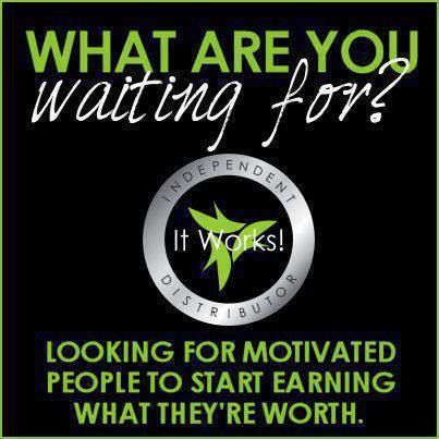 A great way to make extra money or take that extra step and work this business while staying at home!!