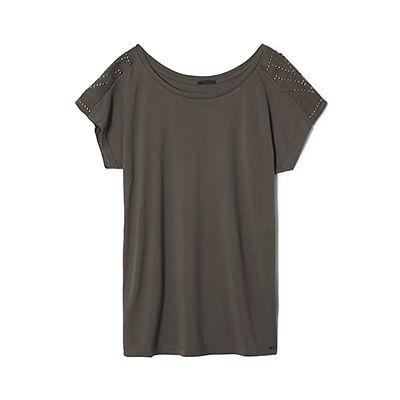 Tee-shirt détail broderie IKKS