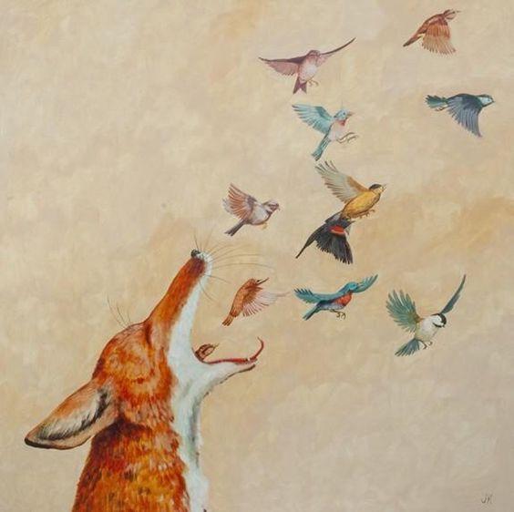 El zorro mágico Jenny Keith
