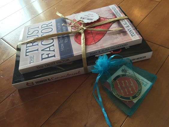 Honor & Commitment Book - Trust Bundle + Coins