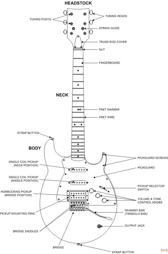 guitar diagram gritsy pinterest tech and guitar rh pinterest com Electric Bass Guitar Wiring Diagrams Electric Bass Guitar Wiring Diagrams