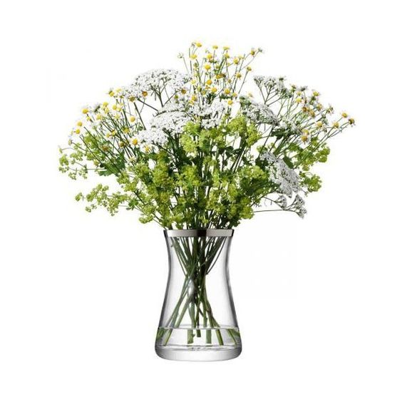 vase flower gemischtes bouquet platinfarben found on polyvore featuring home home decor vases