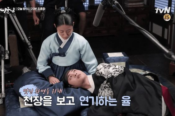 "Watch: EXO's D.O. And Nam Ji Hyun Are Meticulous About Every Little Detail While Filming ""100 Days My Prince"""