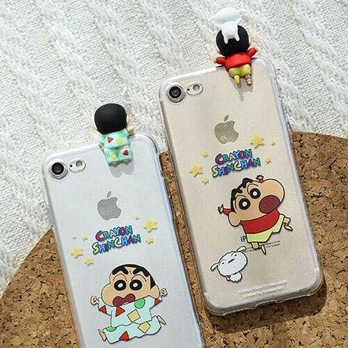 Genuine Crayon Shinchan Figure Jelly Case Galaxy S8 Galaxy S8 Plus Case 4 Types Crayonshinchan Jelly Case Iphone Cases Cute Phone Cases
