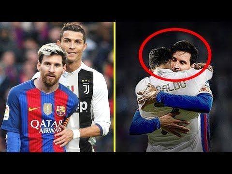 Ronaldo Vs Messi L 20 Beautiful Moments Of Respect In Football Youtube In 2020 Messi Vs Ronaldo Lionel Messi Cristiano Ronaldo Lionel Messi