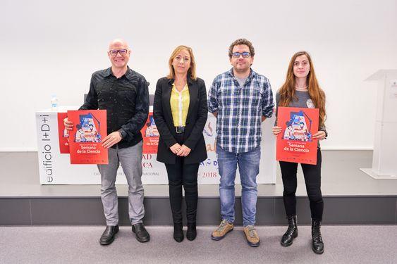 La Universidad de Salamanca se suma a la XVII Semana de la Ciencia con 40 propuestas diseñadas para todos los públicos | Sala de Prensa
