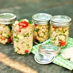 snelle gezonde salade