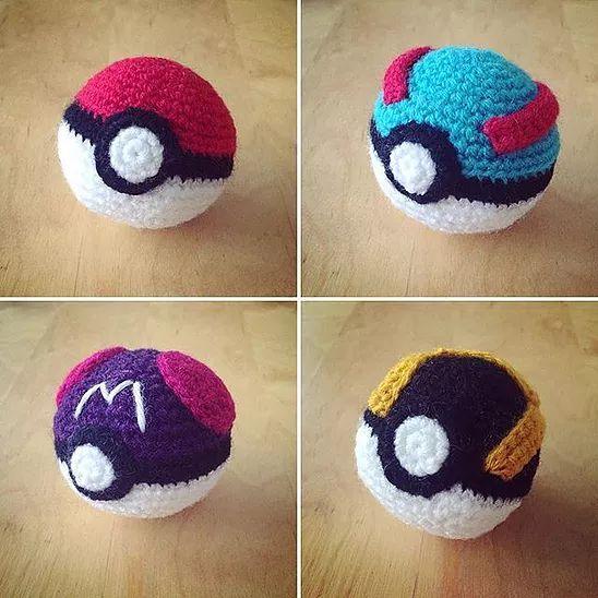 Amigurumi - Pokéball häkeln - Pokémon Ball - kostenlose ... | 548x548