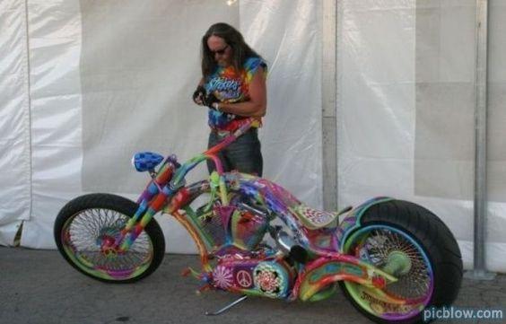 Hippie Bike!  I want I want I want!!!!