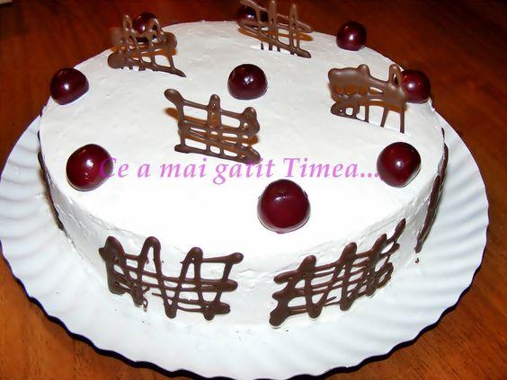 Ce a mai gatit Timea...: Tort Padurea Neagra