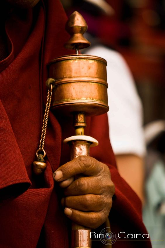 Prayer Wheel - Ladakh, India^.^<3