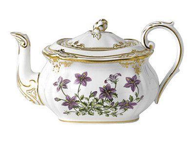 Spode Stafford Flowers Teapot and Cover   eBay