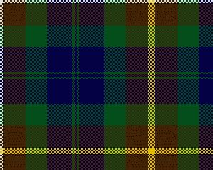 Campbell, Brown Personal Tartan