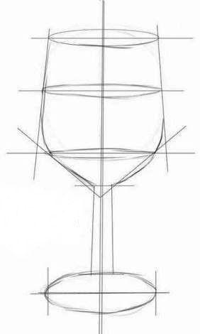 Ein Interessantes Bild Fur Ihre Kuche Konnen Sie Zeichnen Glas Mit Wasser Zeichnen Es Sieht Stilleben Zeichnen Bleistift Kunstzeichnungen Weinglas Zeichnung