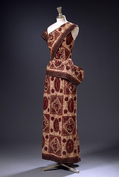 The West African Dress. Image via Pinterest courtesy V and A.