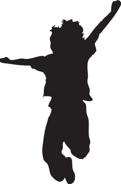 silhouette jumping kid silhouette silhouette clipart silhouette google ...