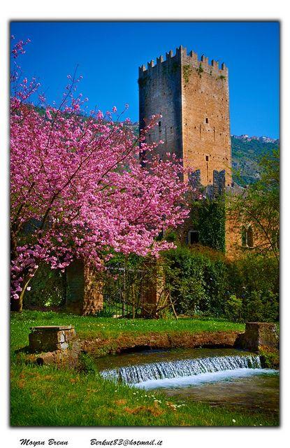 Ninfa Gardens in Italy Cisterna di Latina Lazio