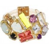 Pulseira Pedras Coloridas: Slash, Hamper, Jewelry, My Style